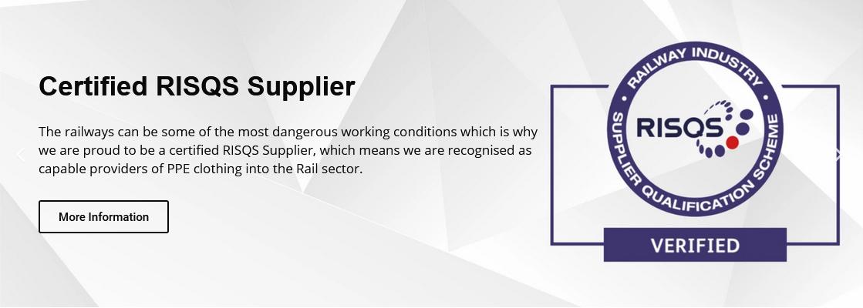 Certified RISQS Supplier